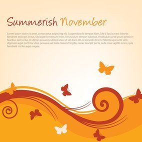 Summerish November