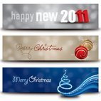 Small 1x christmas new year banners