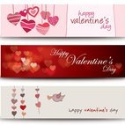 Small 1x valentines banners