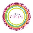 Small 1x colorful circles vector