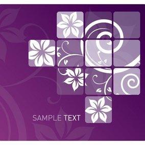 Swirly Flower Design