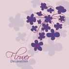 Small 1x flower decoration