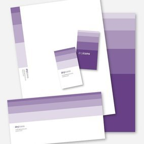 Stylish Stationery Design