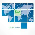 Small 1x vector world