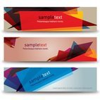 Small 1x abstract banners