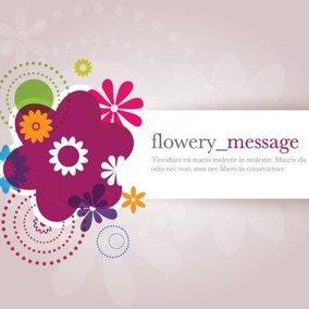 Flowery Message