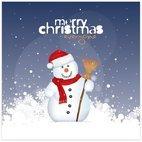 Small 1x christmas snowman