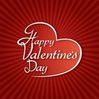 Small 1x valentine typography