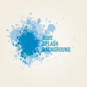 Blue Splash Background