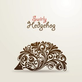 Swirly Hedgehog