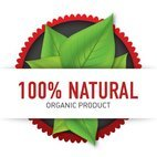 Small 1x organic product label