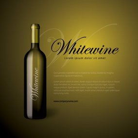 Whitewine Bottle