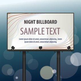 Night Billboard