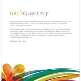 Colorful Page Design