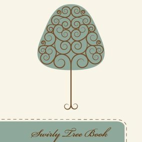 Swirly Tree Book
