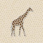 Small 1x giraffe background