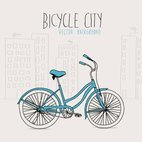 Small 1x bicycle city