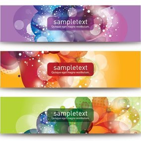Beautiful Vector Banners