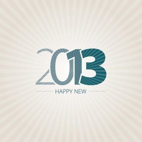 Happy New 2013