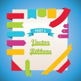 Vector Ribbons Part 2