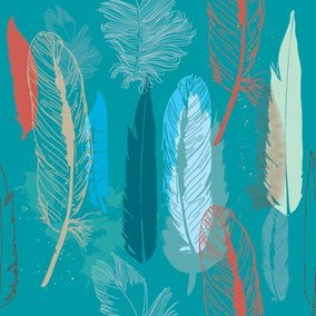 Feathers Pattern