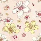 Small 1x seamless flower pattern
