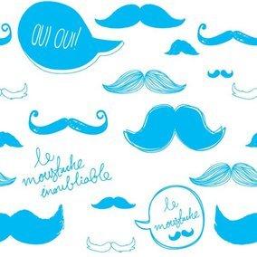 Moustache Pattern
