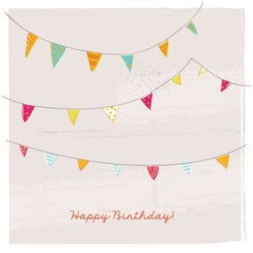 Birthday Bunting Card