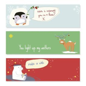 Cute Christmas Banners