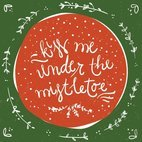 Small 1x under the mistletoe