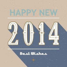 Retro 2014 Card
