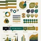 Small 1x infographic vector elements
