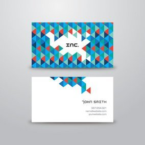 Triangular Business Card