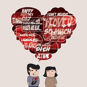 Valentine's Dialogue