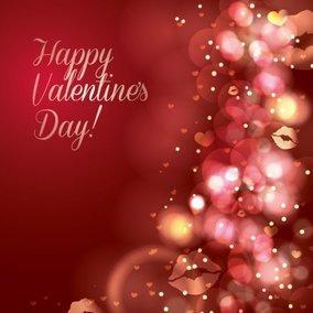 Sparkling Valentine's Card