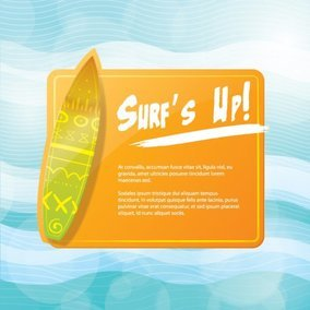 Surf Flyer Design