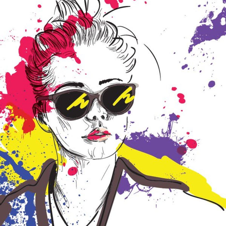 Fashion illustration 9903 dryicons - Pinturas de moda ...