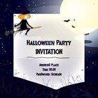 Small 1x halloween invitation