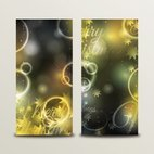 Small 1x christmas bokeh banners