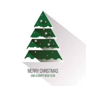 flat christmas tree - Flat Christmas Tree