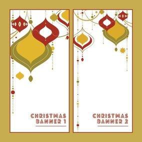 Christmas Deco Banners