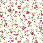 Small 1x watercolor floral seamless background