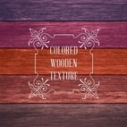 Small 1x colored wooden texture